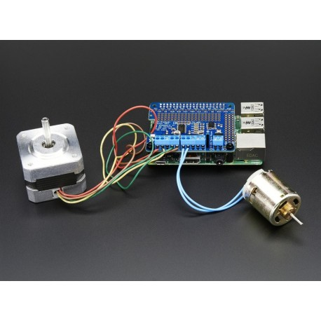 DC & Stepper Motor NDT for Raspberry Pi