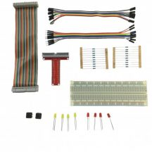 Kit electronic components for Raspberry Pi