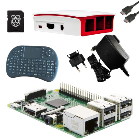Media Center Kit Raspberry PI 3