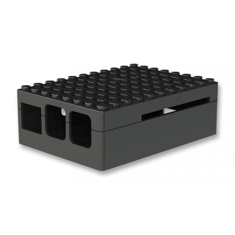 Pi-Blox case for Raspberry ft 3 / ft 2 / B +