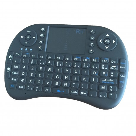 מקלדת QWERTY Rii Mini I8