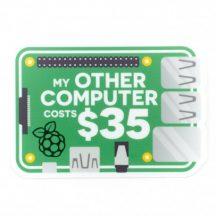 "Sticker ""My other computer ..."""