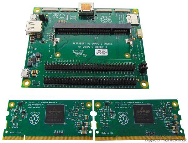 RPI COMPUTE DEV KIT - COMPUTE MODULE IO BOARD V3