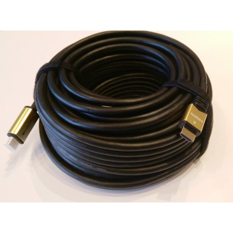 hdmi cable 30m 24k gold plated connectors. Black Bedroom Furniture Sets. Home Design Ideas