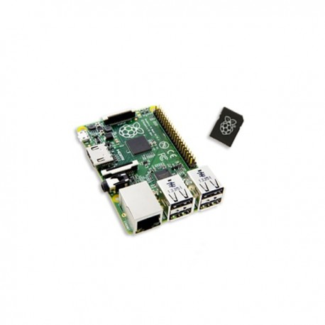Raspberry Pi 2 Model B 8GB card NOOBS