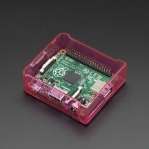 image Housing Pink For Raspberry Pi A +