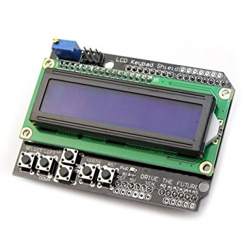 image LCD1602 With Blue Button Keypad 6