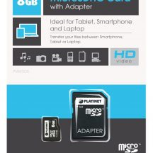 image Map Microsdhc 8Gb Class 10 with adapter Platinet