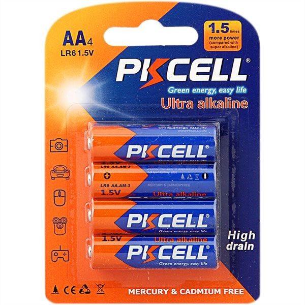 image Loads 4 Aa Batteries 1.5V Lr6