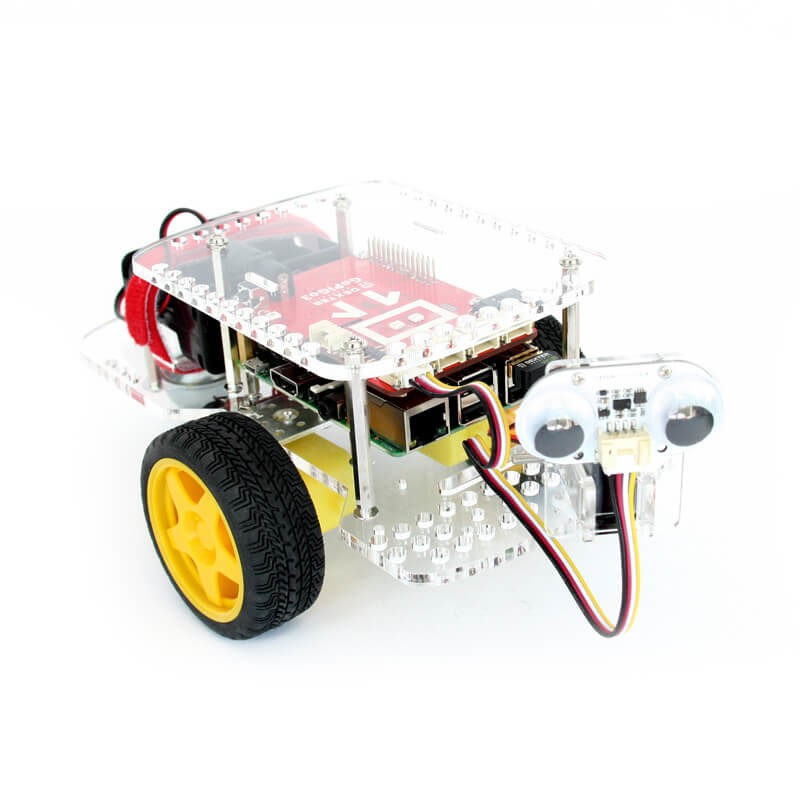 image From Distance Sensor Robot