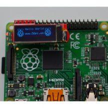 "image OLED module 0.91 for Raspberry Pi """