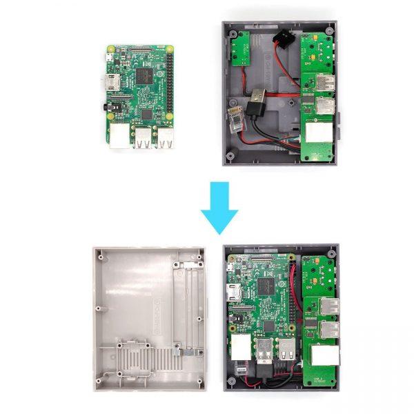 image Nespi Case For Raspberry Pi 3/2 / B +