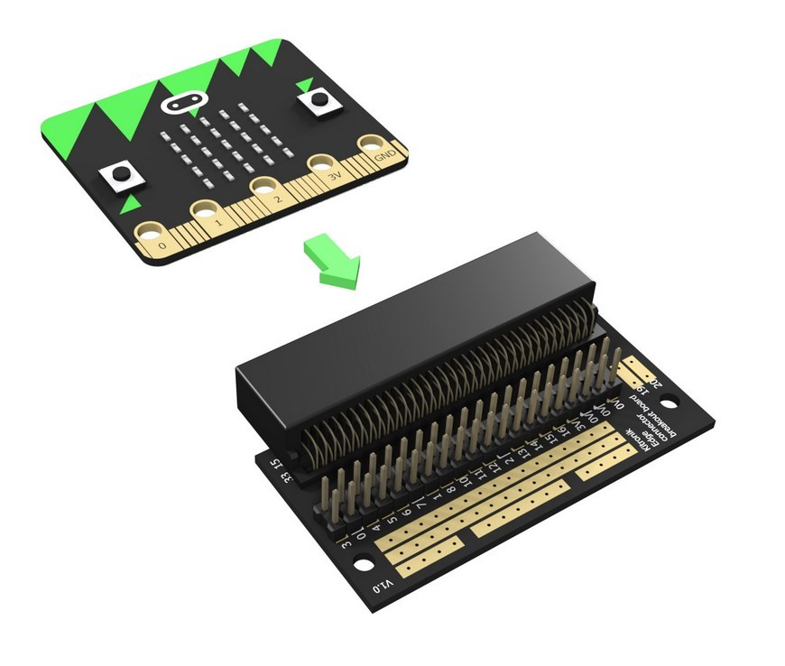 image Breakout Board Edge Connector To Microphone: Bit