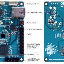 image ODROID-Xu4 Card With Heat Sink