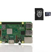 image Raspberry Pi Model B 3 plus sd card