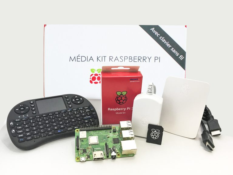 image Media Kit Center Pi 3 b plus