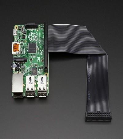 image Downgrade GPIO Ribbon Cable For Raspberry Pi Model B + 40P To 26P