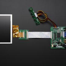 """image Touchscreen Hdmi 4 Pi: 5 800X480 - Hdmi / Vga / NTSC / Pal """""""