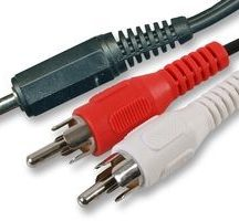 image Audio Cable 3.5mm St Vers 2X 1.8M